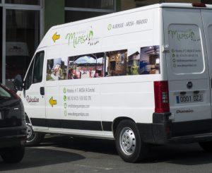 albergue Milpés furgoneta