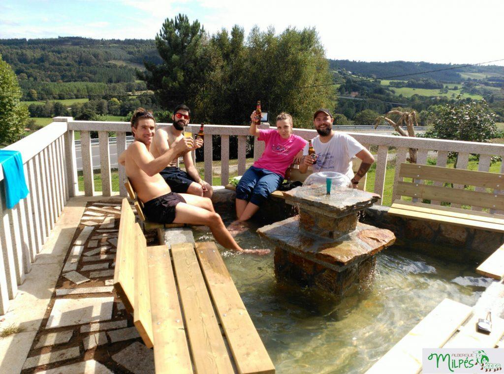 milpes-fuente-albergue-peregrinos