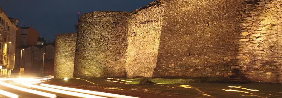 Murallas Romanas de Lugo-patrimonio-de-la-humanidad