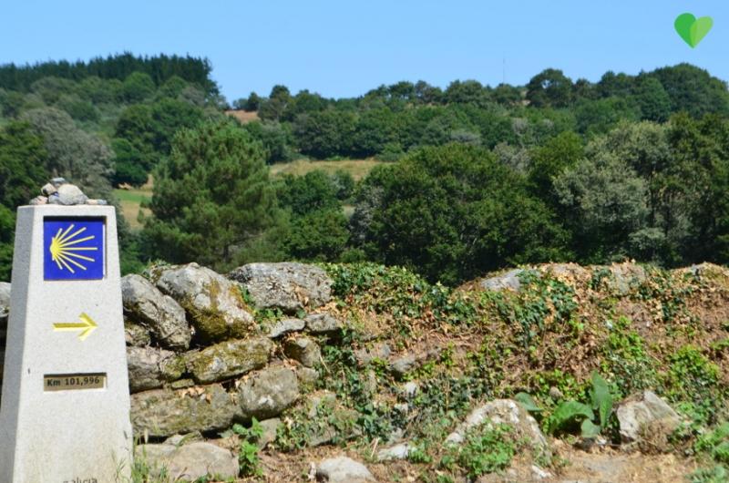 Señalización-Camino-de-santiago-albergue-milpes
