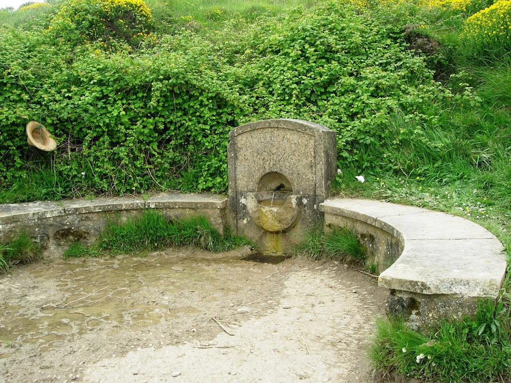 fuente reniega leyenda del Camino de Santiago