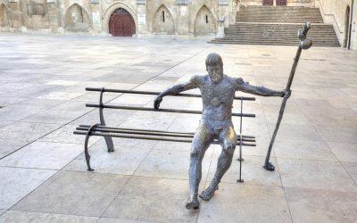 Los monumentos a los peregrinos durante el transcurso del Camino de Santiago