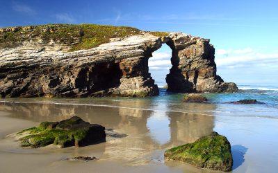 ¿De qué playas puedo disfrutar en el Camino de Santiago?